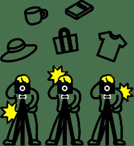 カメラマンが常駐